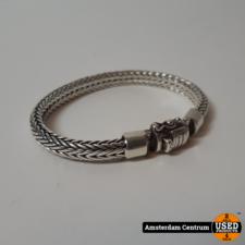 Buddha to Buddha Armband ELLEN XS 18CM Zilver   Nette staat