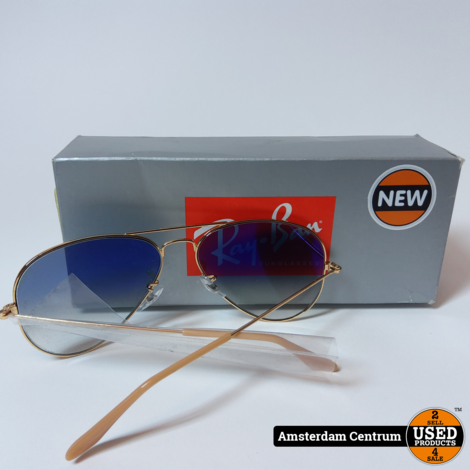 Ray-Ban RB3025 001/3F Zonnebril Unisex | Nieuw in hoes #2