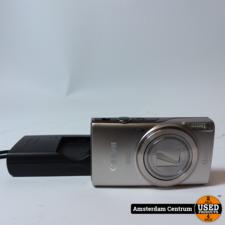 Canon IXUS 285 HS Full HD Camera WIFI Silver   Incl. lader en garantie