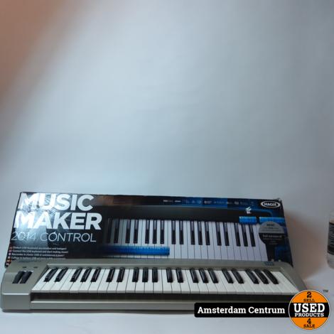 Magix Music Maker 2014 Control | incl. Doos en Garantie