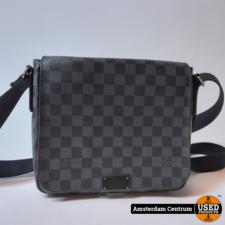 Louis Vuitton N41272 Damier Graphite District MM Messenger 2015   Nette staat