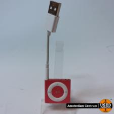 iPod Shuffle 4G 2GB Rose | incl. USB-kabel en Garantie