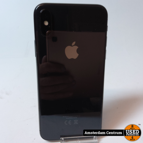 iPhone X 256GB Space Gray | incl. Lader en Garantie