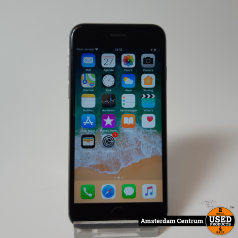 iPhone 6s 16GB Space Gray | Incl. lader en garantie