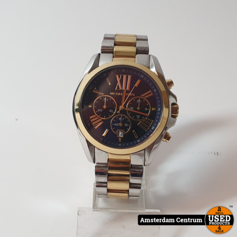 Michael Kors MK5976 Heren Horloge Goud | incl. Garantie
