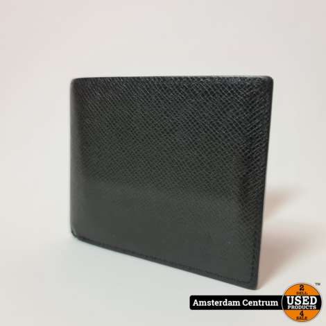 Louis Vuitton M62045 Amerigo Wallet Zwart/Black | in nette staat incl. bon