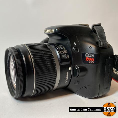 Canon EOS Rebel T2i (550D) + EF-S 18- 55 f/3.5-5.6 IS | Incl. garantie