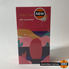 Magic Motion Fugu Rood Smart Vibrator   Nieuw in seal