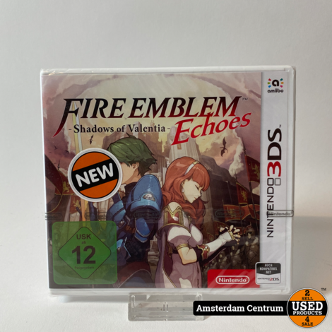Nintendo 3DS Game: Fire Emblems Shadows Of Valentia | Nieuw in seal