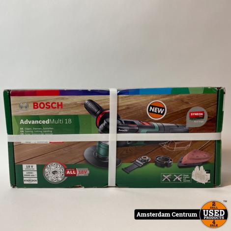 Bosch AdvancedMulti 18 Multitool Body | Nieuw in doos