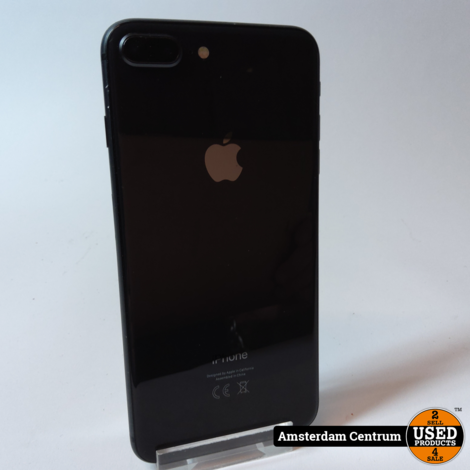 iPhone 8 Plus 64GB Space Gray | Incl. lader en garantie