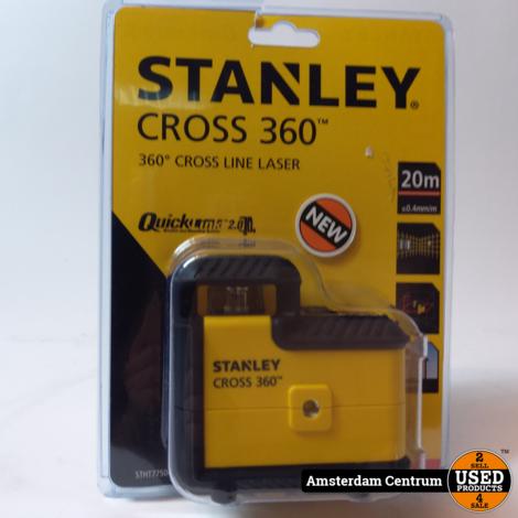 Stanley Cross 360 STH77504-1 Line Laser Rood   Nieuw in seal