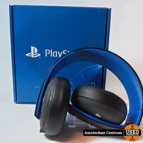Sony PlayStation Zwart/Black Wireless Headset |  Nette staat