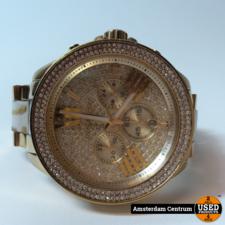 Micheal Kors Michael Kors MK6157 Dames Horloge Goud/Gold | Incl. garantie