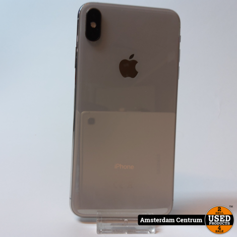iPhone XS Max 256GB Zilver/Silver | In nette staat