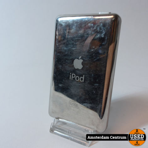 iPod Classic 6th Gen. 120GB Silver | Incl. garantie