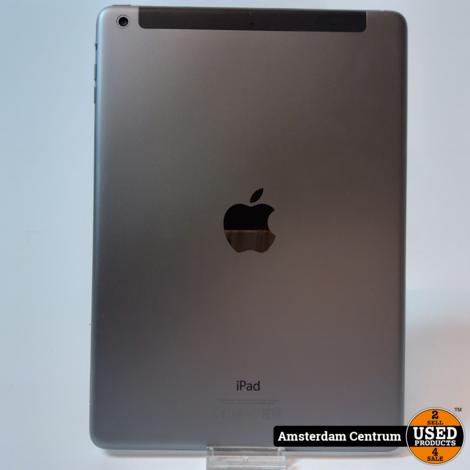 iPad Air 32GB WIFI 4G (SIM) Space Gray   Incl. garantie