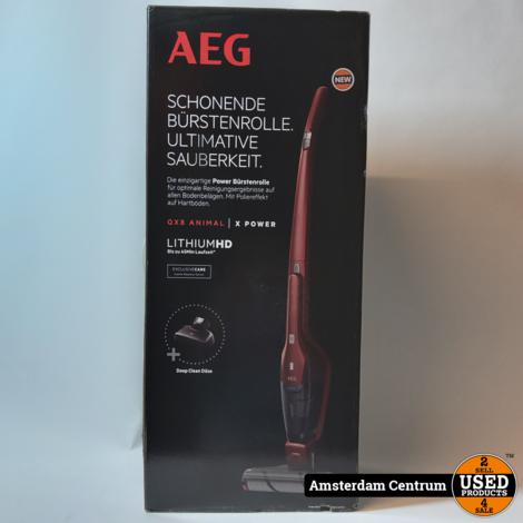 AEG QX8-1-45CR-A Animal Edition - Steelstofzuiger | Nieuw in doos