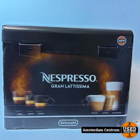 DeLonghi EN650.B Nespresso Gran Lattissima Koffie Apparaat   Nieuw
