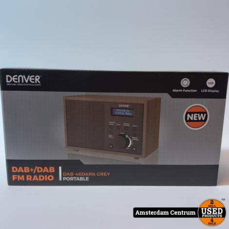 Denver DAB-46DARK Grijs/Grey | Nieuw in doos