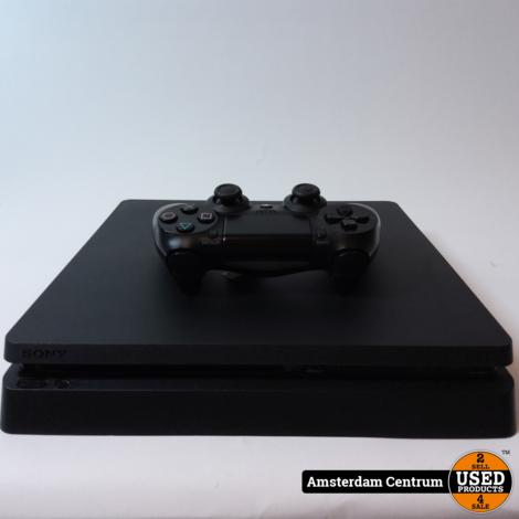 Playstation 4 Slim 500GB Zwart/Black | ZGAN