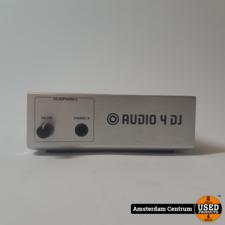 Native Instruments Audio 4 DJ Geluidskaart | Incl. garantie