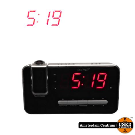 Denver CRP-618 Projection Clock Radio   Nieuw in doos