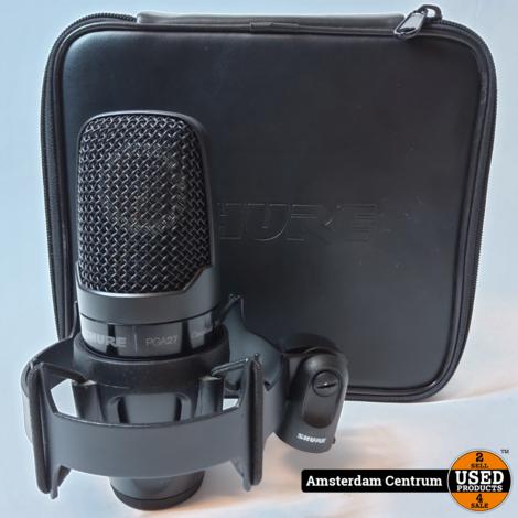 Shure PGA27-LC grootmembraan condensatormicrofoon | Nette Staat