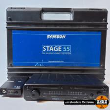 Samson SR55 Microfoon Receiver | incl. Garantie en Koffer