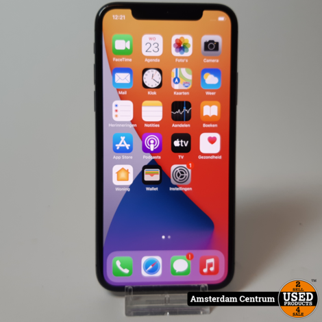 iPhone X 64GB Space Gray #1 | In nette staat