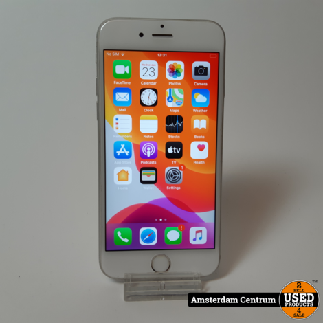 iPhone 6s 16GB Silver | incl. lader en garantie