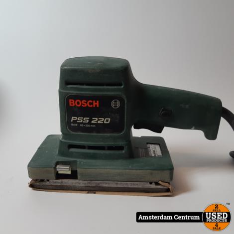 Bosch PSS 220 A Schuurmachine | In koffer