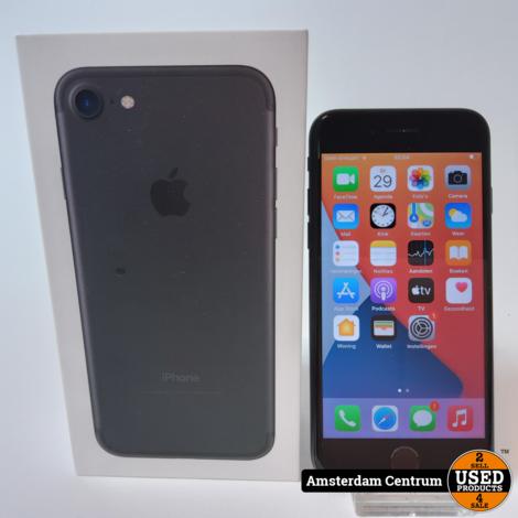 iPhone 7 32GB Zwart/Black   Incl. garantie