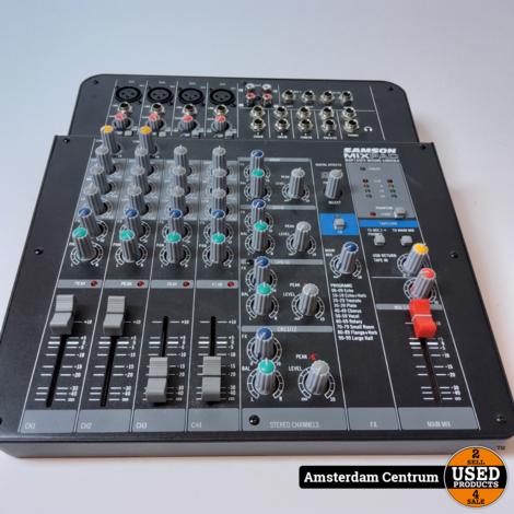 Samson MXP124FX Mixpad | In nette staat