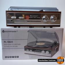 Soundmaster PL186H Plartenspeler Bruin/Brown | Compleet in doos