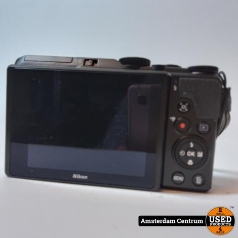 NIKON Coolpix A900 Zwart/Black | In nette staat in doos