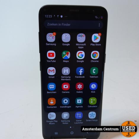 Samsung Galaxy S8 64GB Zwart/Black | In nette staat