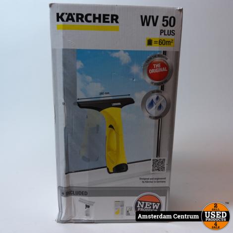 Kärcher WV 50 PLUS - Ruitenreiniger - Zwart/Geel | Nieuw