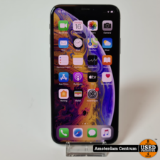 iPhone XS 64GB Silver #2 | Incl. garantie
