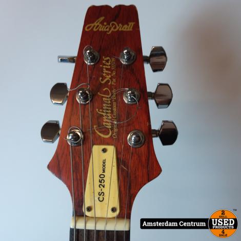 Aria Pro II CS-250 Vintage Elektrische Gitaar | Incl. garantie