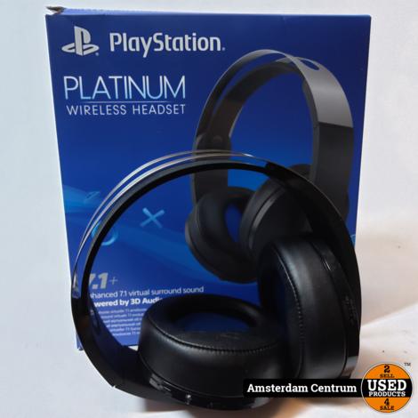 Sony Platinum Wireless 7.1 Headset | In doos