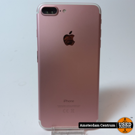 iPhone 7 Plus 32GB Rose Gold | In nette staat