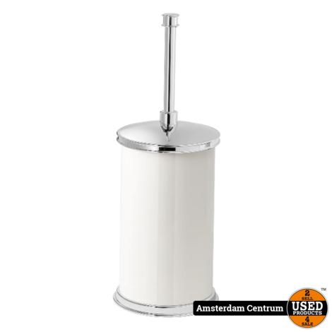 IKEA BALUNGEN Toiletborstel/houder, wit | Nieuw
