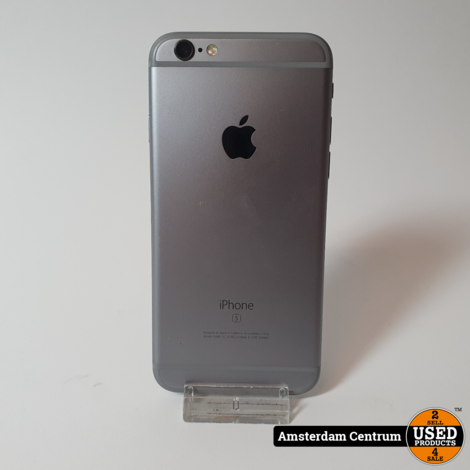 iPhone 6s 64GB Space Gray   In nette staat