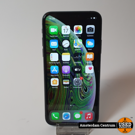 iPhone Xs 64GB Space Gray   In nette staat