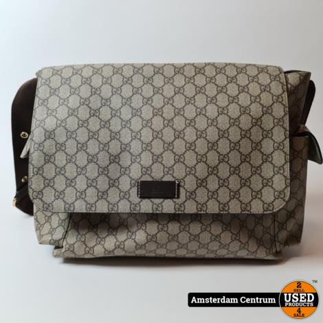 Gucci 211131 Supreme Plus Diaper Bag   In nette staat