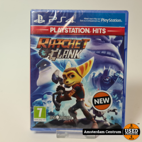 PlayStation 4 Game: Ratchet Clank - PlayStation Hits   Nieuw in Seal