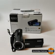 Sony Sony HDR-CX320E Handycam Videocamera | incl. Garantie en Doos