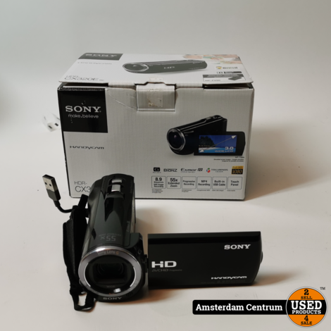 Sony HDR-CX320E Handycam Videocamera | incl. Garantie en Doos