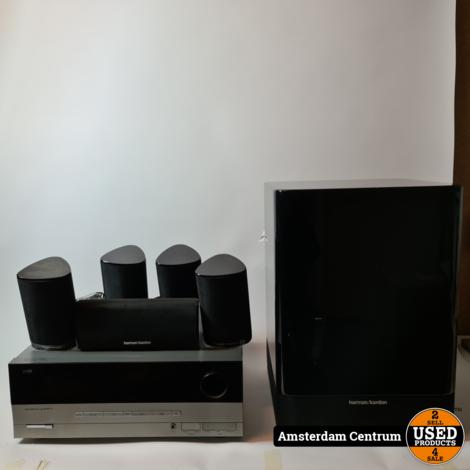 Harman Kardon AVR 137/230 + HKTS 7 5.1 systeem | Incl. AB en garantie